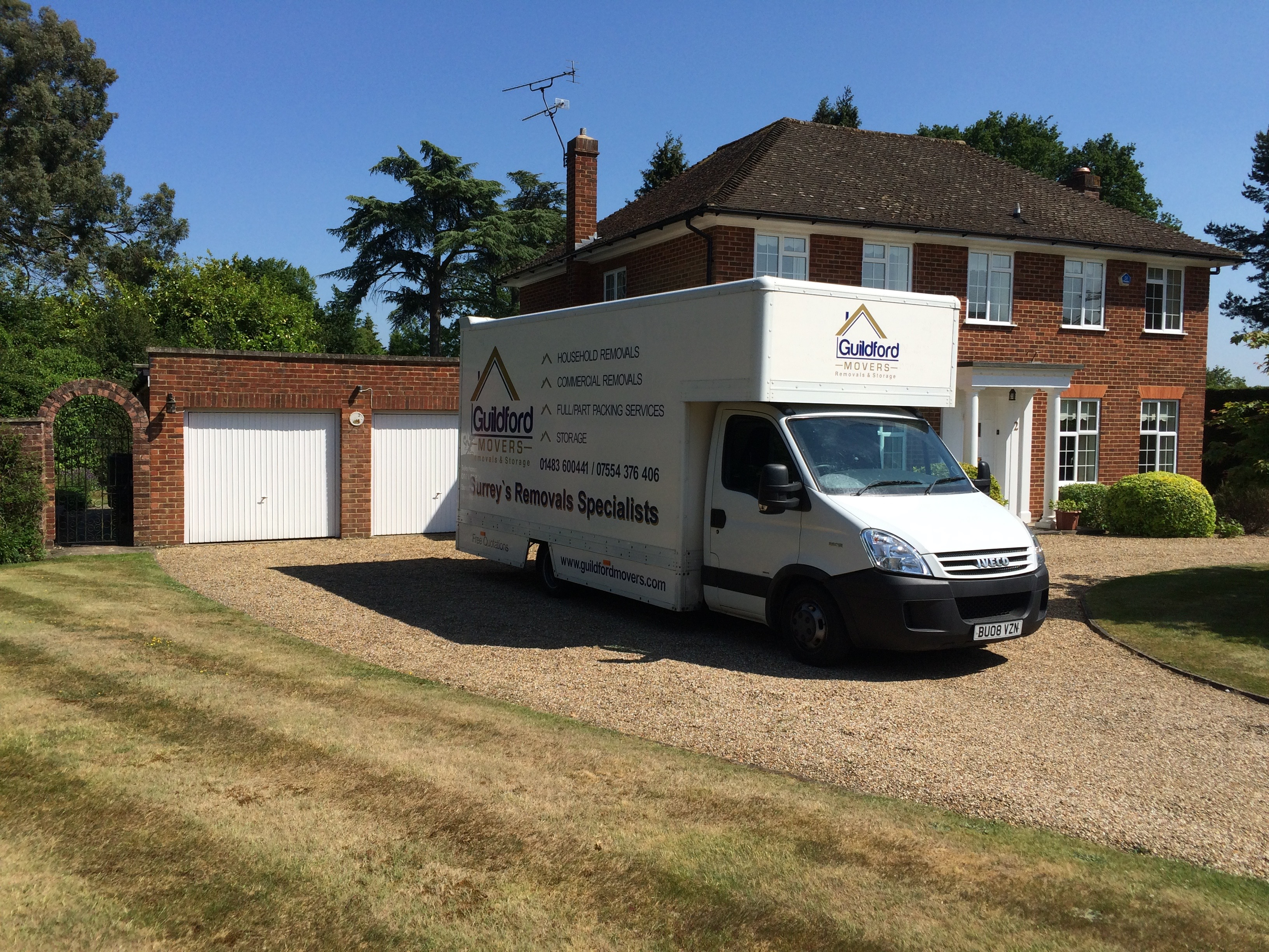 guildford movers van