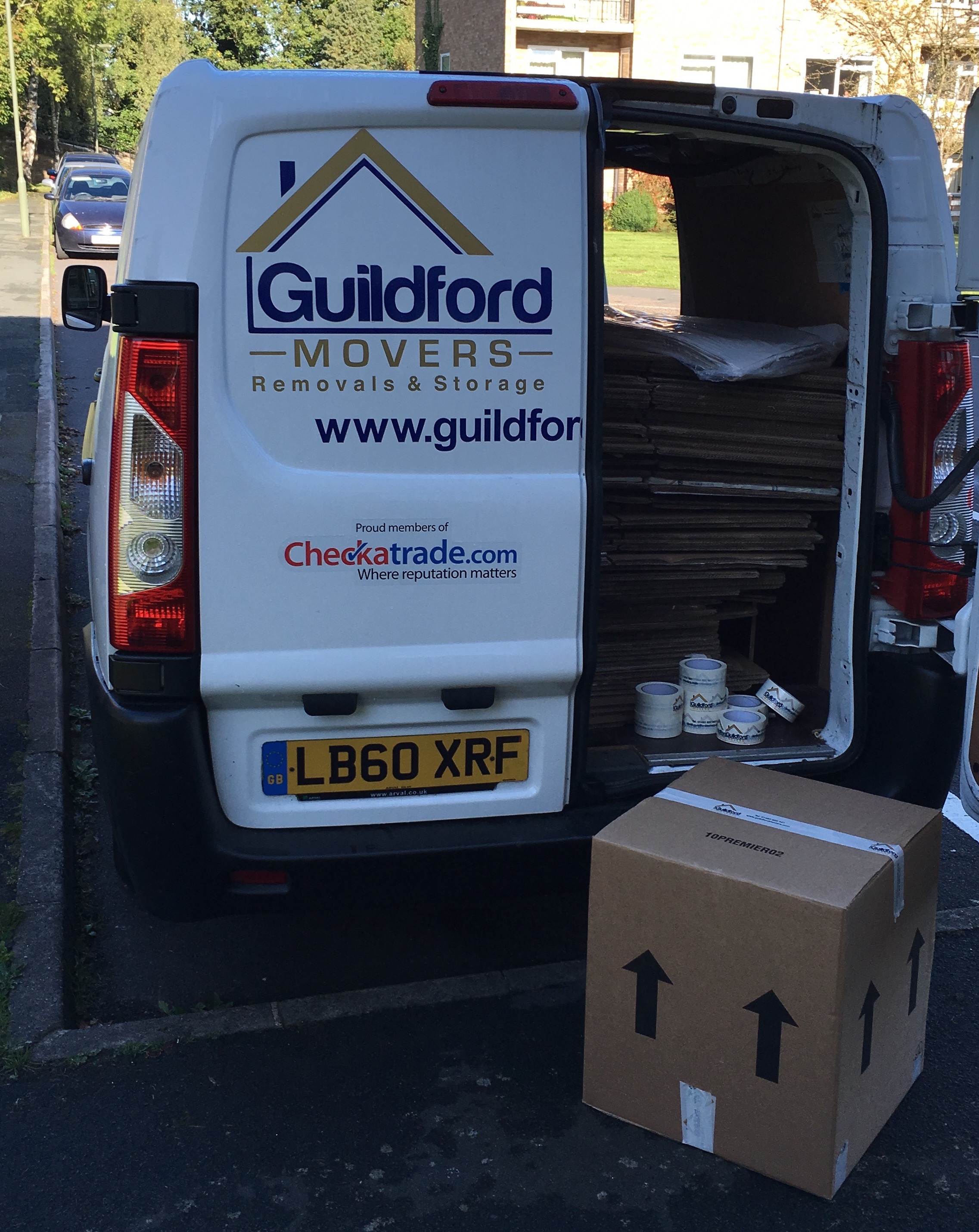 guildford movers packing service